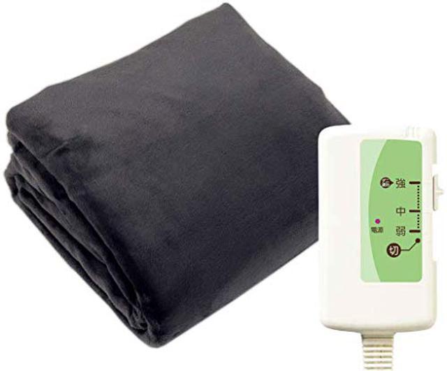 画像6: ニトリや山善などおすすめ電気毛布・ひざ掛け7選 消費電力が少なく冬キャンプ向き