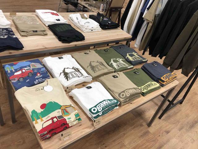 画像: 【ogawa GRAND lodge所沢】直営店限定のTシャツやカトラリーも豊富