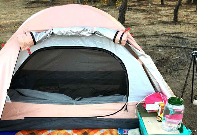 画像: パイクスピーク(pykes peak)のドームテントレビュー 8千円以下のソロキャンプ用激安テント - ハピキャン(HAPPY CAMPER)