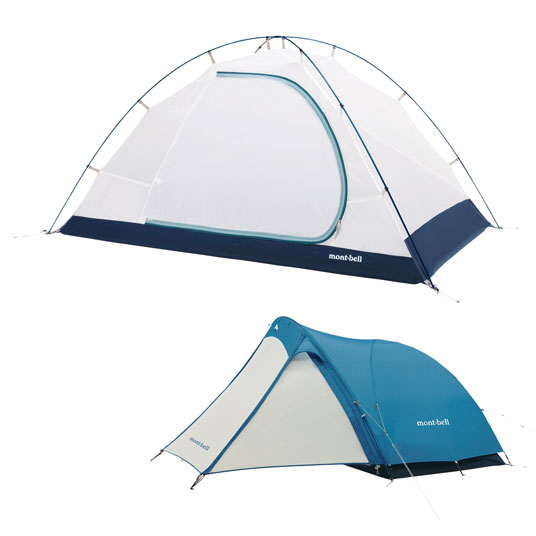 画像2: モンベルのソロキャン用テント6選! クロノスドーム・クロノスキャビン・ムーンライトなど