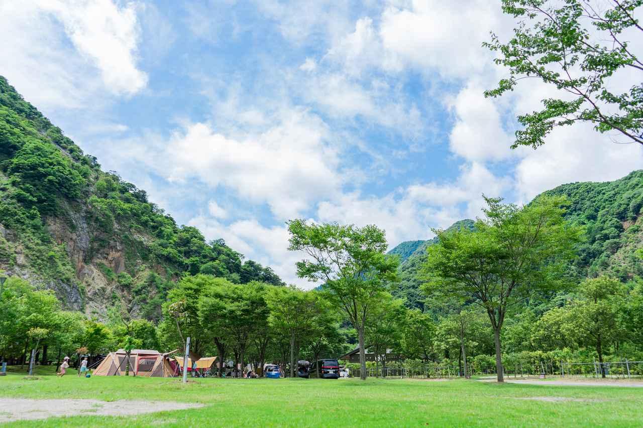 画像: 青川峡キャンピングパーク提供