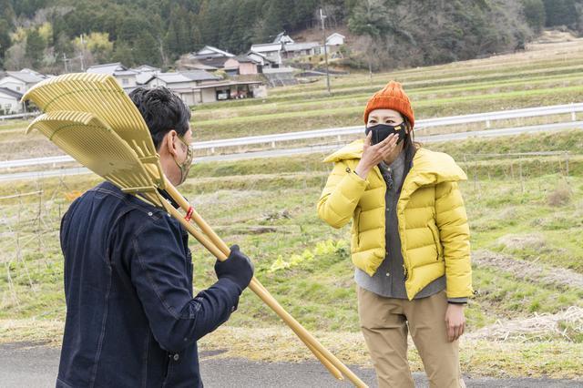 画像: てつじさん(左)と石神アナ(右) (photographer 吉田達史)