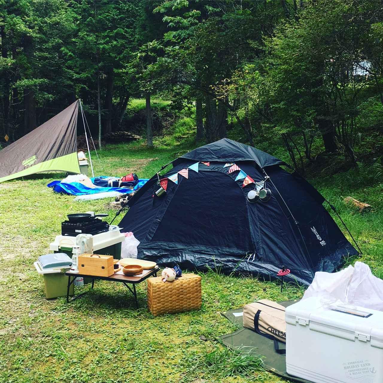 画像: 防犯から虫対策まで。女子ソロキャンプで気を付けたい4つのポイント - ハピキャン(HAPPY CAMPER)