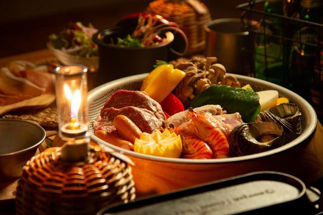 画像: 地元食材を使った料理