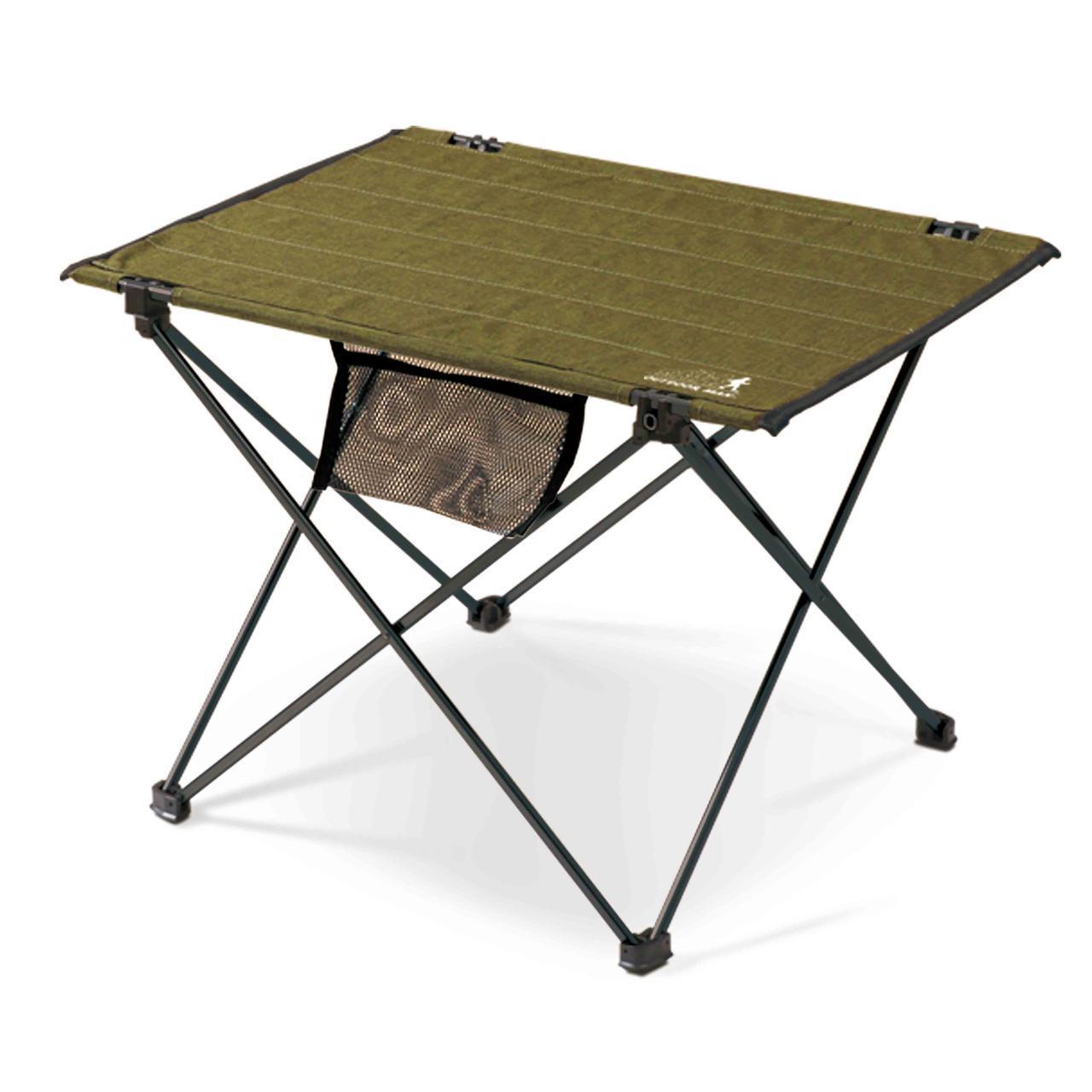 画像1: ハンギングチェーンが便利!ロールアップタイプのテーブル「HANGING CHAIN TABLE」