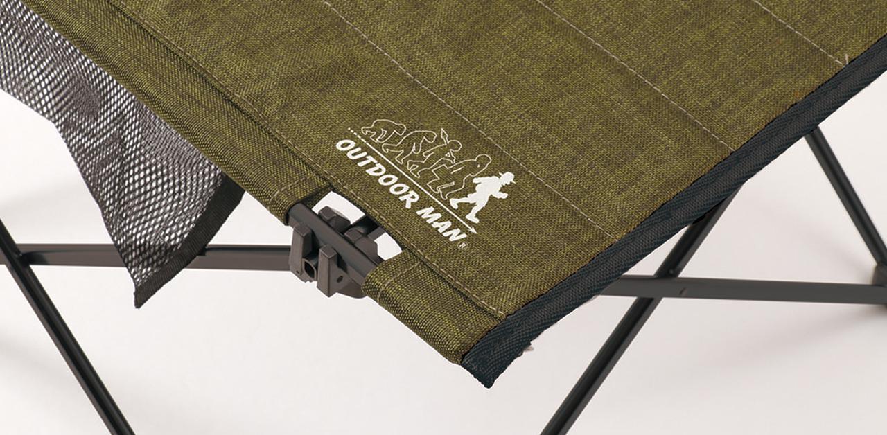 画像2: ハンギングチェーンが便利!ロールアップタイプのテーブル「HANGING CHAIN TABLE」