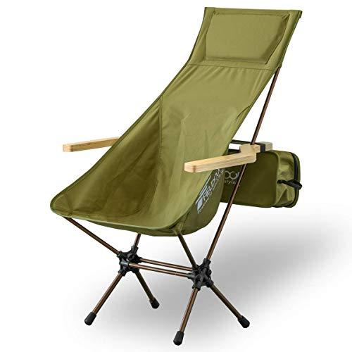 画像2: 【アウトドアチェア】キャンプでソファ代わりに使える! 自宅でも使えるアウトドアチェア・ハイバックチェアおすすめ11選