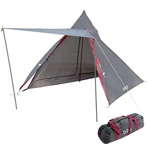 画像1: 初心者ソロキャンプにおすすめ! DOD(ドッペルギャンガー)の1人用テント7選