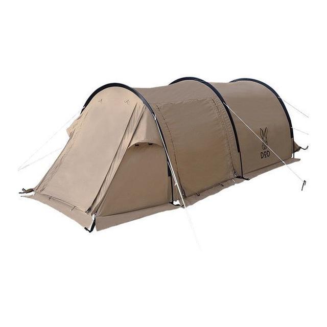 画像2: 初心者ソロキャンプにおすすめ! DOD(ドッペルギャンガー)の1人用テント7選