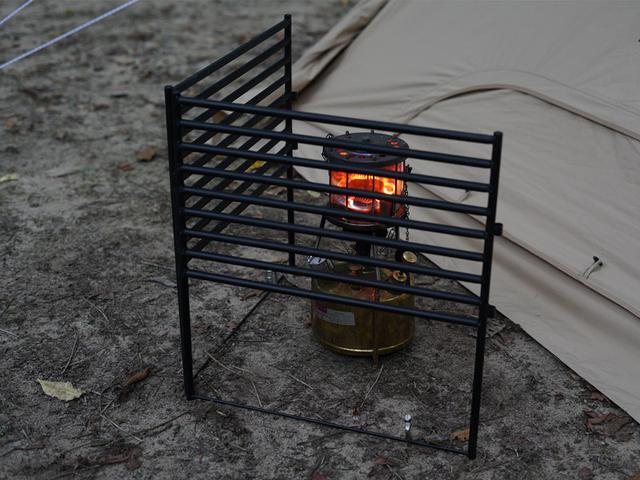 画像: 1.ストーブや焚き火台との接触をガード