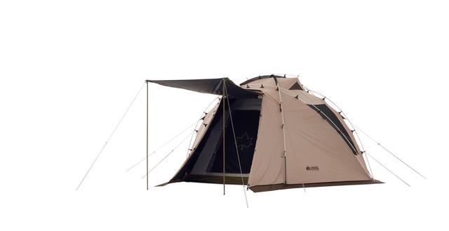 画像: 日陰のないキャンプ場対策に「トラッドソーラー ジオデシックドーム-BA」