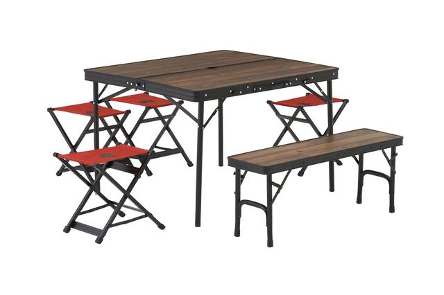 画像: ベンチやスツール付きも!高さ調整可能な「Tracksleeper テーブル」シリーズ