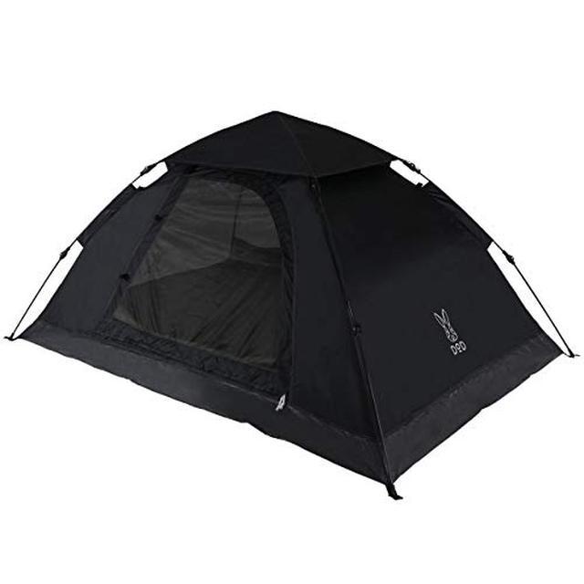 画像2: DODのワンタッチテントを徹底レビュー! 女子ソロキャンプで実際に使って評価しました!