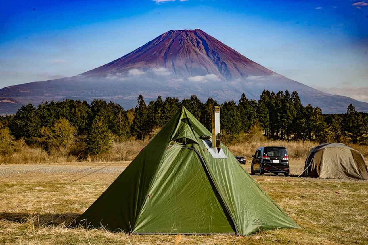 画像: ワンポールテントは設営が簡単! 一人でも設営できて、コンパクトなのキャンプ初心者にもおすすめ!