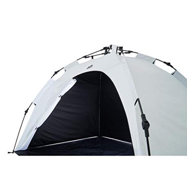画像1: -10℃以上も違う!?ロゴスの遮光率100%なワンタッチサンシェードを使ってみた ピクニックやデイキャンプにおすすめ◎