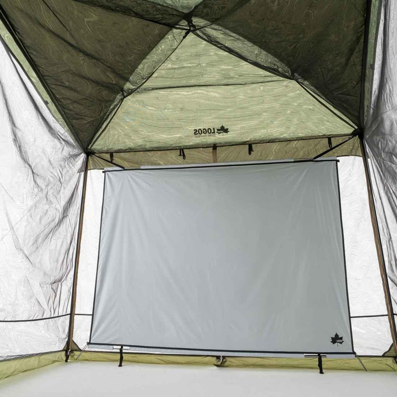 画像: ネジなし簡単設営で安心してキャンプのお供に