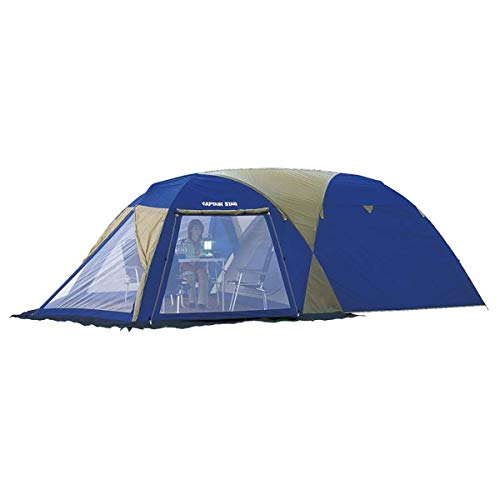 画像: ファミリーキャンプ初心者にオススメのテント!キャプテンスタッグ「オルディナスクリーンツールームドームテント」