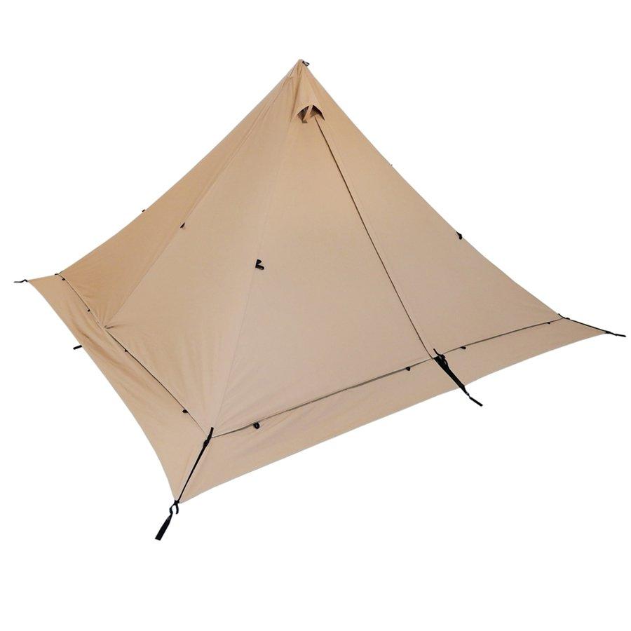 画像3: ソロキャンプに人気!テンマクデザイン「パンダテント」 全4種類の徹底比較&魅力を解説!