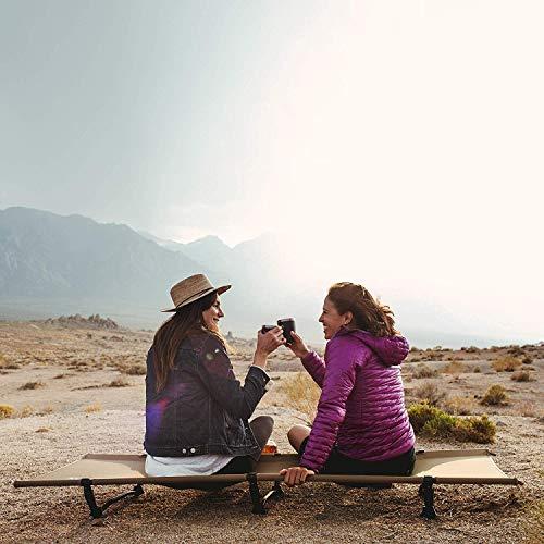 画像2: 【筆者愛用】テント泊で眠りが浅い人必見!Naturehike(ネイチャーハイク)のコットが快適な睡眠をキャンプでも実現します