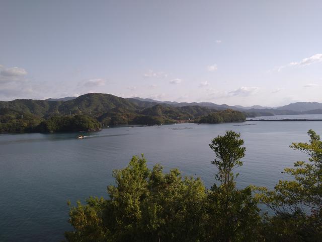 画像: 筆者撮影「キャンプ場の見晴らし台からの眺め」