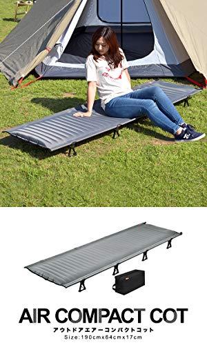 画像4: 【筆者愛用】テント泊で眠りが浅い人必見!Naturehike(ネイチャーハイク)のコットが快適な睡眠をキャンプでも実現します
