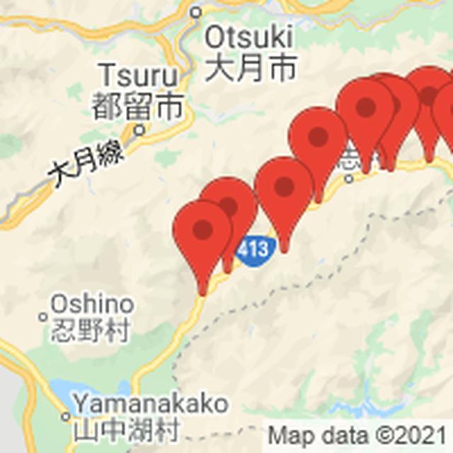 画像: キャンプ場(道志村 付近)