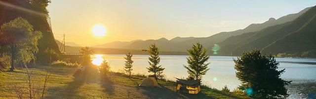 画像: 富士五湖の一つ西湖湖畔にあるキャンプ場|西湖津原キャンプ場