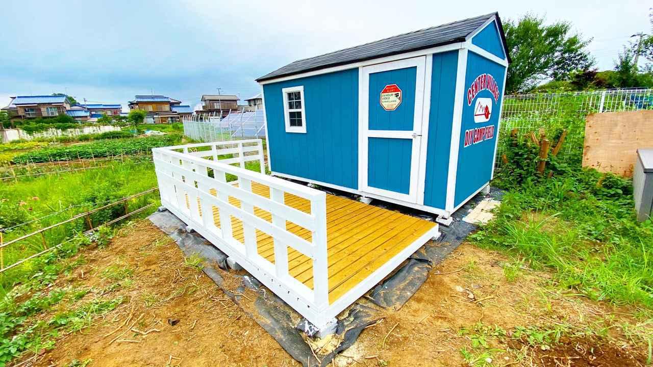 画像: 【キャンプ場をDIY】タケトの小屋にウッドデッキを取り付けよう!予算はたったの2万円!?【#24】【#25】【#26】 - ハピキャン(HAPPY CAMPER)