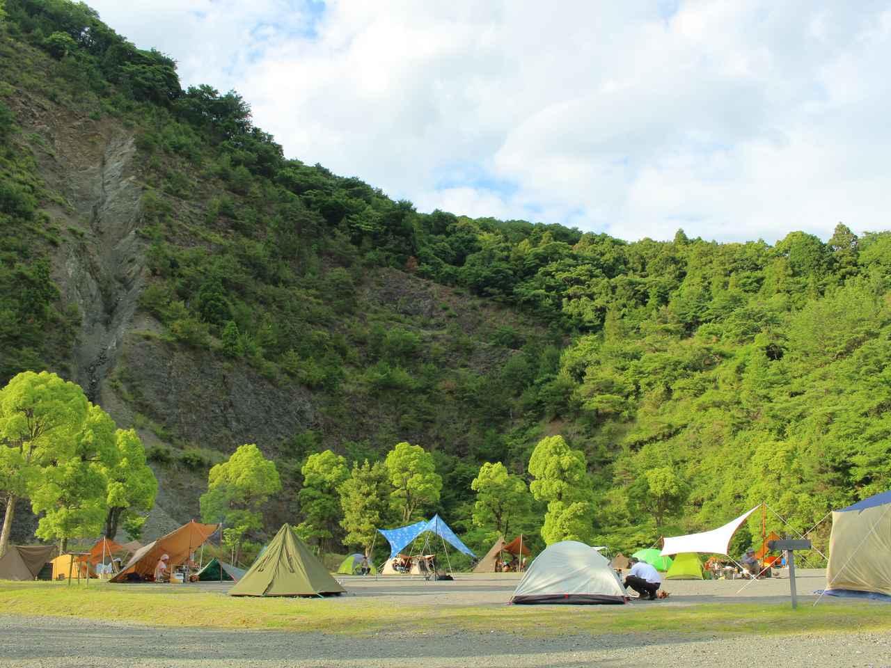 画像1: 青川峡キャンピングパーク提供