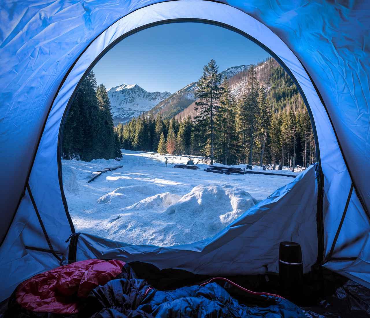 画像: 快適な睡眠の必須アイテム! 寝袋(シュラフ)で防寒対策