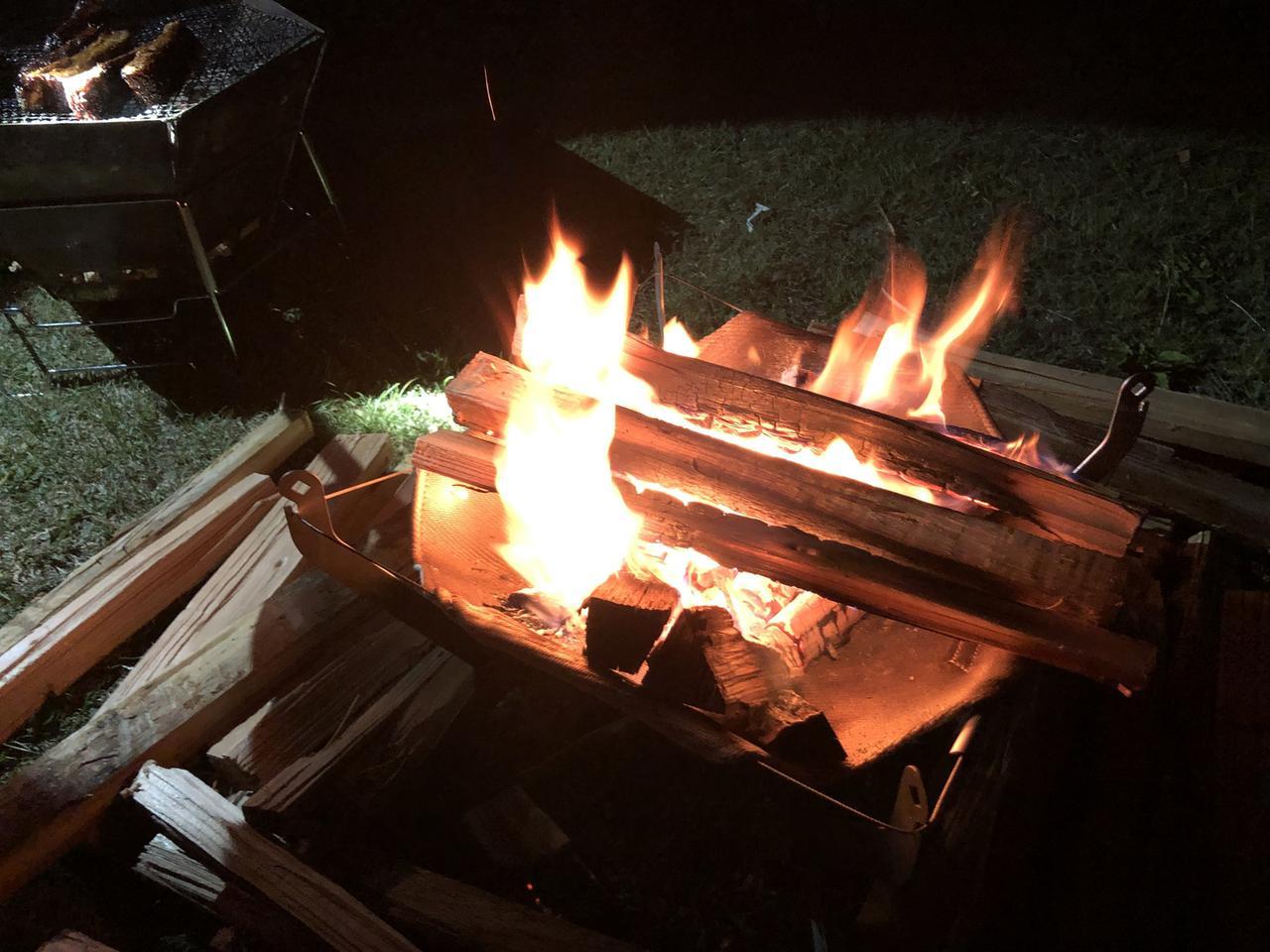 画像: 3. 火が回ってきたら