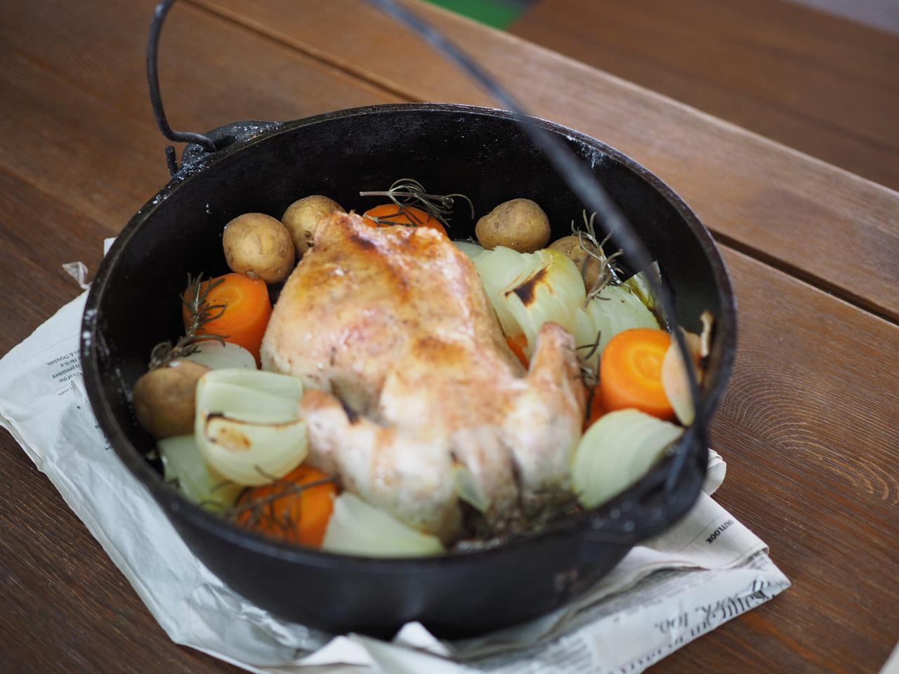 画像: 熱が均一に行き渡り料理が美味しくなる ダッチオーブンはサイズも材質も豊富