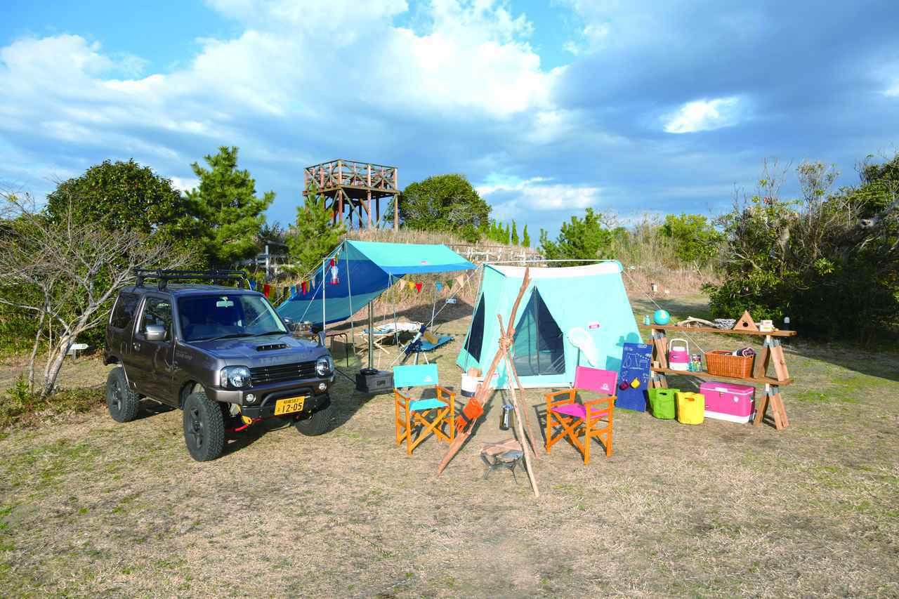 画像: キャンプに慣れている人ほど、荷物はコンパクト キャンプには、軽量で高機能な道具を持っていこう