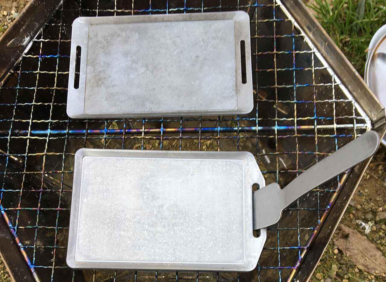 画像: 100均のソロキャンプ用鉄板を比較! セリアとキャンドゥの違いは? 実際に使ったのでレビューします - ハピキャン(HAPPY CAMPER)