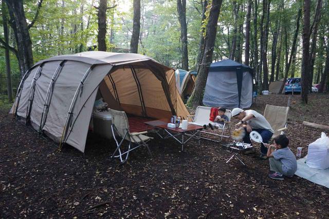画像: キャンプ場「レイクロッジヤマナカ」で木漏れ日あふれる林間キャンプ! 山中湖でダイヤモンド富士も - ハピキャン(HAPPY CAMPER)