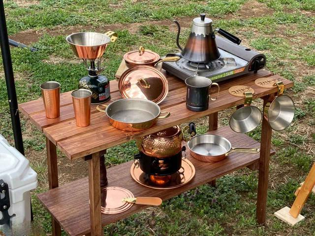画像: キャンプのキッチン用品をおしゃれに揃えるなら! 銅製品のおすすめアイテム4選 マグカップやドリップポッドなど - ハピキャン(HAPPY CAMPER)