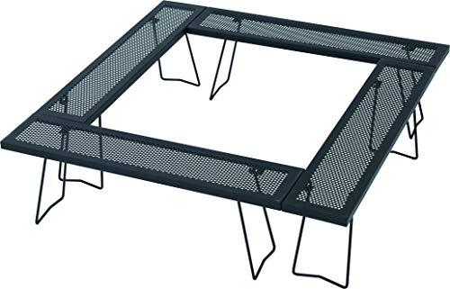 画像1: テントファクトリーの囲炉裏テーブル『スチールワークスフリー4セット』をレビュー!