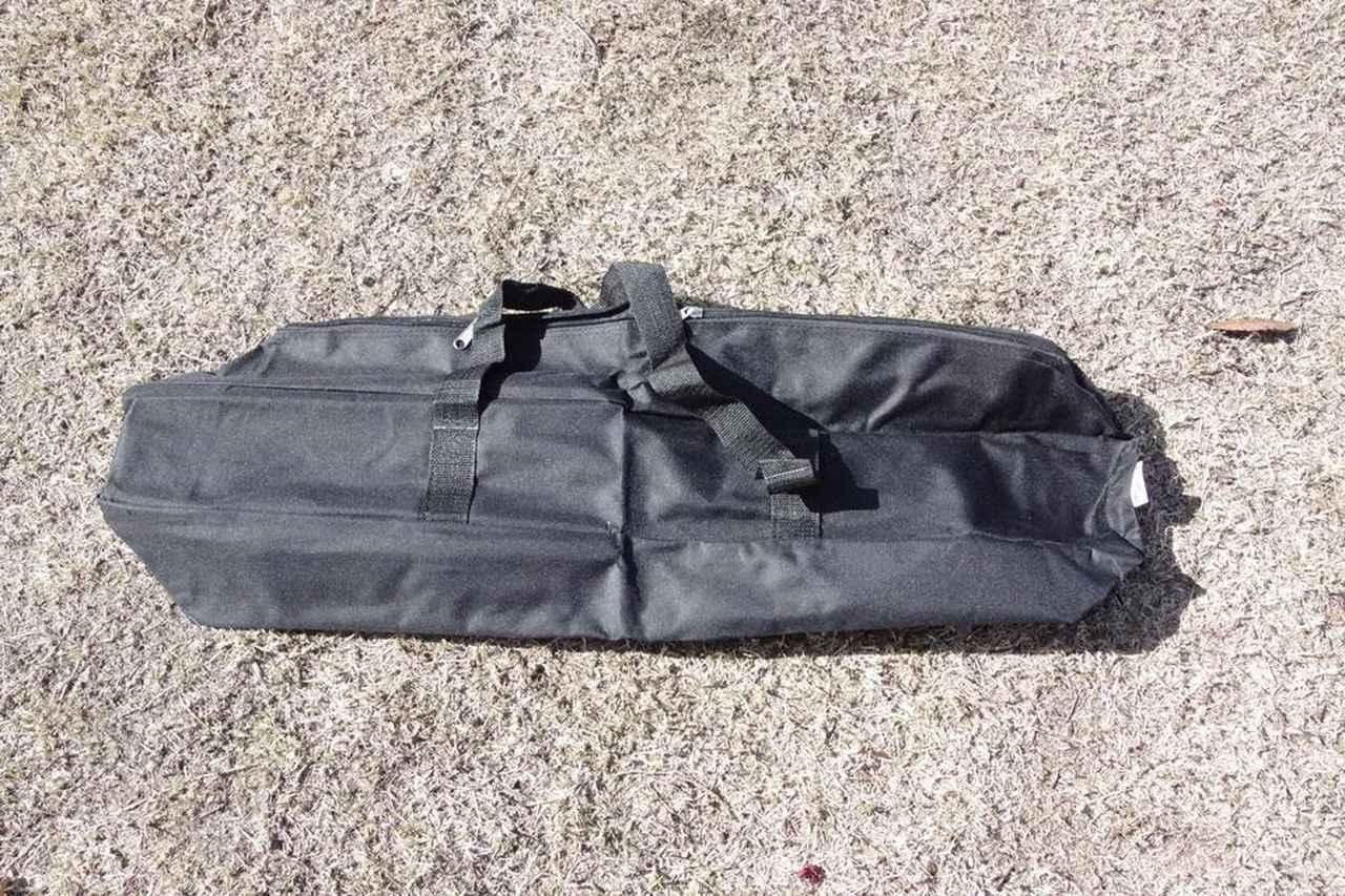 画像: (筆者撮影)付属品のキャリーバッグです。