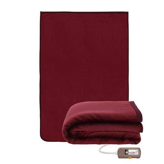 画像8: ニトリや山善などおすすめ電気毛布・ひざ掛け11選 消費電力が少なく冬キャンプ向き