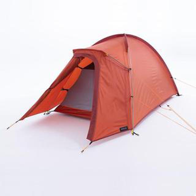 画像2: ママ&女子キャンパーのソロキャンプ★軽量&簡単設営のデカトロンテントを絶対におすすめしたい5つの理由