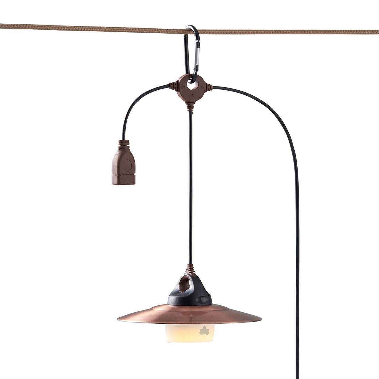 画像2: 【注目リリース】LOGOS(ロゴス)から、レトロなぬくもりを演出するUSB式LEDのデコレーションライトが新発売!