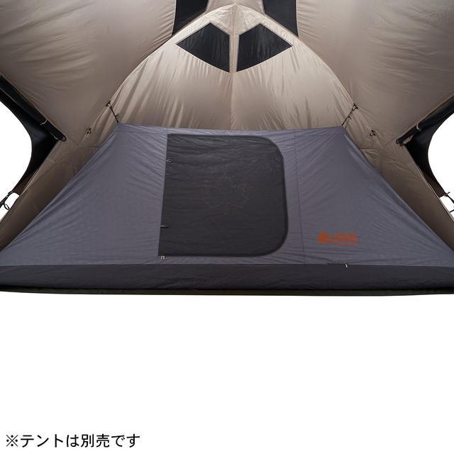 画像4: 【注目リリース】組⽴て約5分!LOGOS(ロゴス)が超⼤型タープ「Tradcanvasソーラー スペースベース・デカゴン500-BA」を新発売!