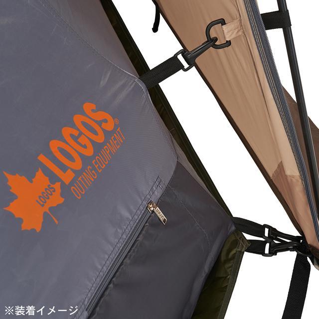 画像5: 【注目リリース】組⽴て約5分!LOGOS(ロゴス)が超⼤型タープ「Tradcanvasソーラー スペースベース・デカゴン500-BA」を新発売!