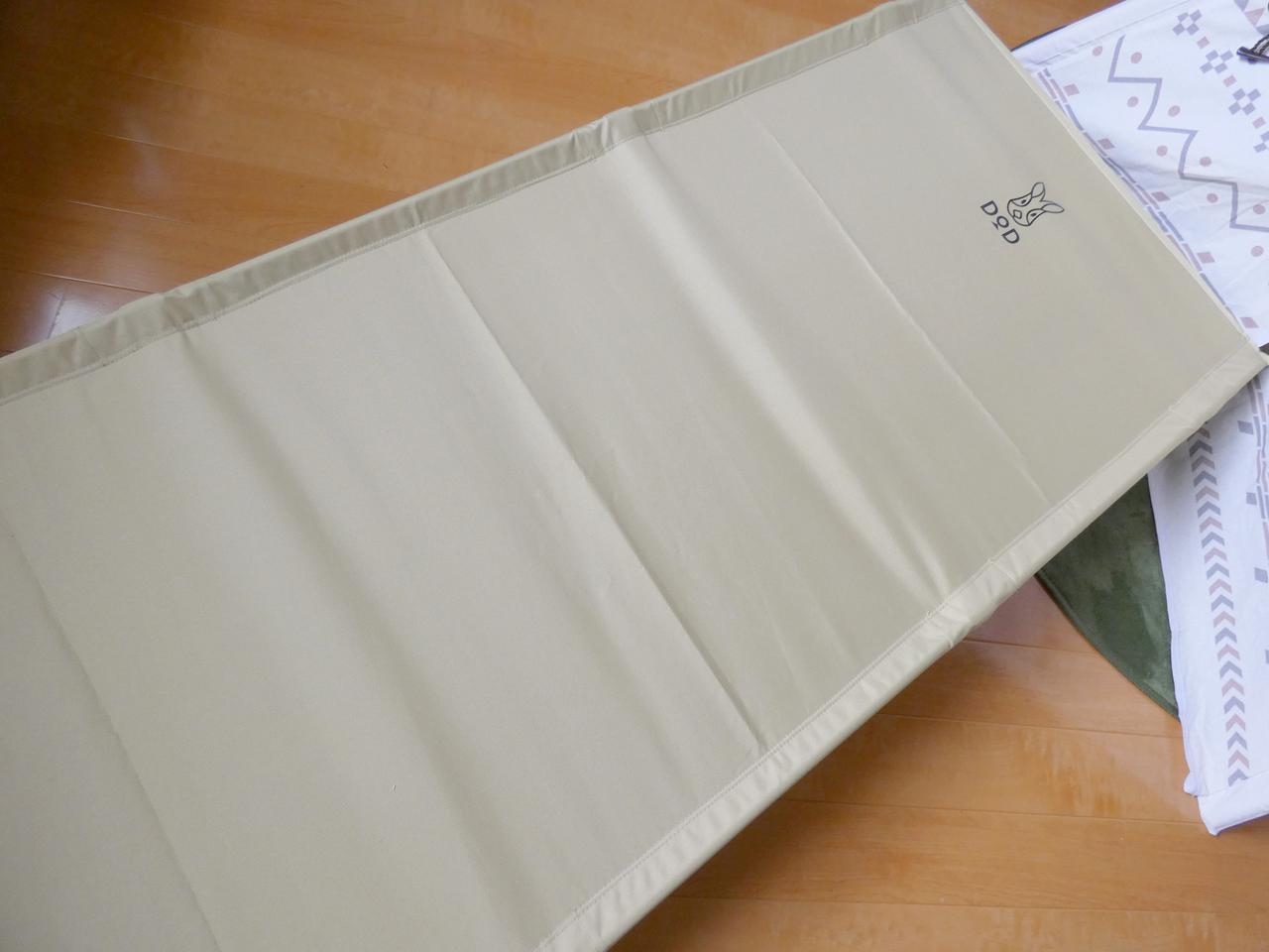 画像1: DOD「バッグインベッド」は組み立て簡単なアウトドアベッド 普段使いにもおすすめ - ハピキャン(HAPPY CAMPER)