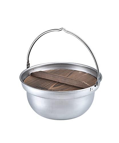 画像1: ユニフレーム「焚き火鍋」を徹底レビュー! ファミリーでもソロキャンプでも料理を楽しめる万能ステンレス鍋