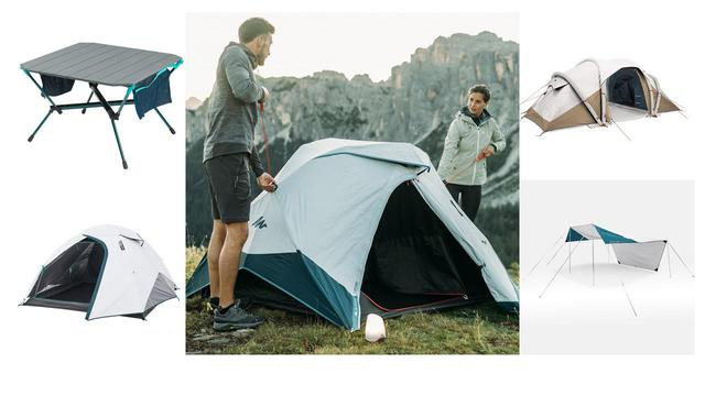 画像: 【注目リリース】DECATHLON(デカトロン)が簡単&手軽さを追求した2021年キャンプ用品を続々リリース! - ハピキャン(HAPPY CAMPER)