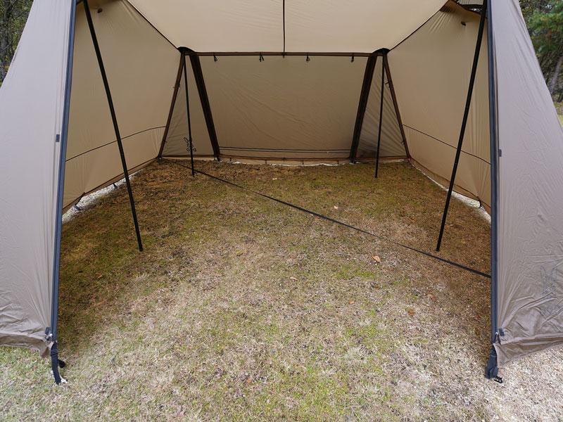 画像1: 開放感のある内部空間