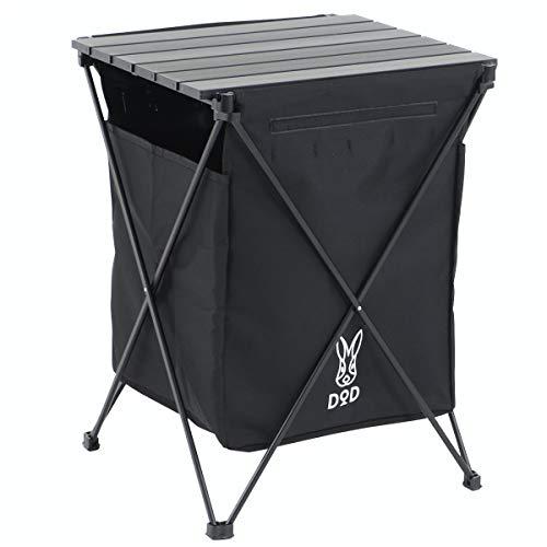 画像1: 【100均】プチプラアイテムを活用したゴミ箱 ゴミ袋を隠す工夫でキャンプをおしゃれに