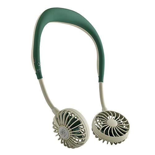 画像1: ハンディ扇風機「WFan(ダブルファン)」はハンズフリーで夏のアウトドアを快適に!マスク蒸れ対策にもおすすめ