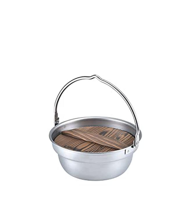 画像1: 【簡単レシピ】ユニフレームの焚き火鍋でヘルシーな「博多風水炊き」を作る キャンプ飯で美味しくダイエット!